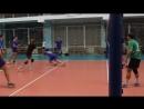 Волейбол суперкубок 2018 Матч DataArt - ЮВЖД групповой этап 15-15 в 3-й партии Команды не могут выявить победителя