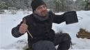 Горячий Роллтон в зимнем лесу.