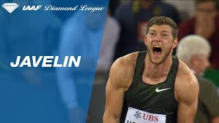 Andreas Hofmann Launches the Javelin Over 90 Meters to Win Diamond League Trophy
