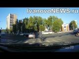 В Иванове водитель не уступил дорогу пешеходу