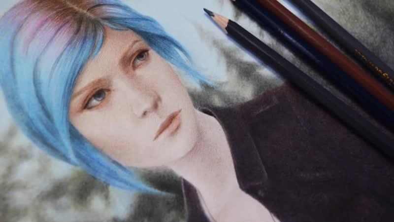 Speed drawing-Life Is Strange-Chloe.Sophie Wolf