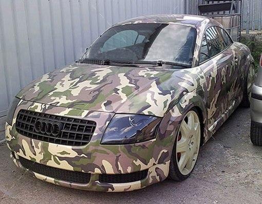 Камуфлированные автомобили