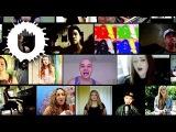 Виртуальный хор Benny Benassi - Cinema [HOUSE 2014, EDM, CLIP, КЛИП, HD, YOUTUBE]