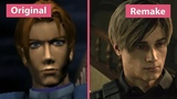Resident Evil 2 Original (1998) vs. Remake (2019) Trailer &amp Demo Graphics Comparison