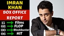 Imran Khan Box Office Collection Analysis Hit and Flop Movies List