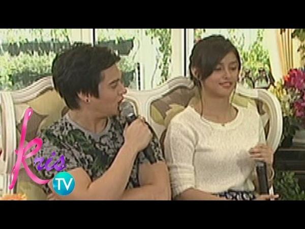 Kris TV Enrique caught staring at Liza