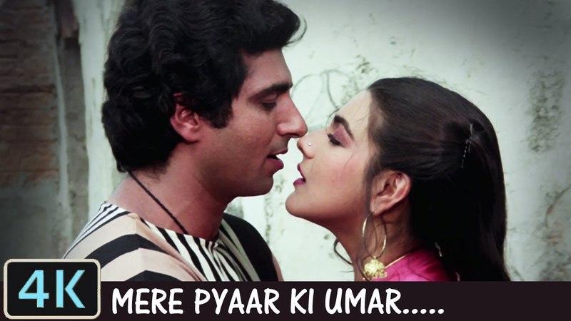 Mere Pyar Ki Umar Ho Full 4K Video Song Lata Mangeshkar Raj Babbar Amrita Singh Waaris