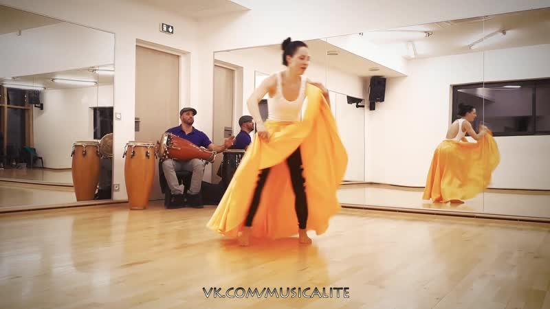 Katerina MIK   AfroRumba routine @daily class   France 2018