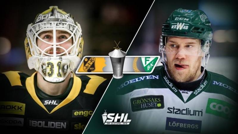 SHL - Slutspel - Skellefteå AIK - Färjestad BK 2018-03-21