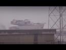 Попадание в Abrams из РПГ 7