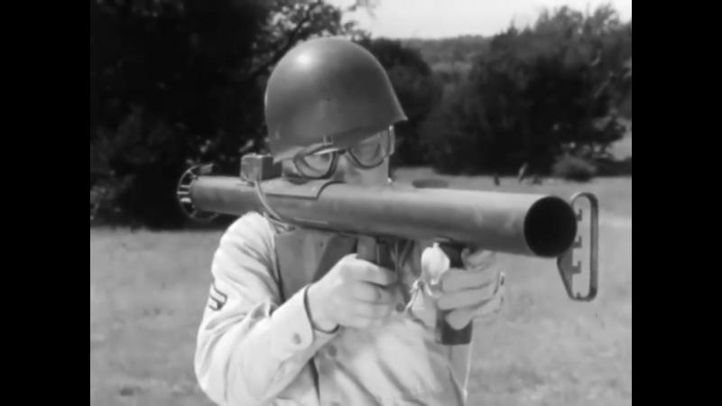 Bazooka_ The Anti-Tank Rocket M6 1943 US Army Training Film; M1 M1A1 Bazookas