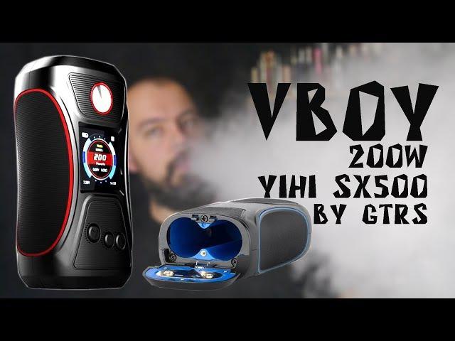 VBOY 200W Yihi SX500 by GTRS Vape | бокс мод для фанатов термоконтроля