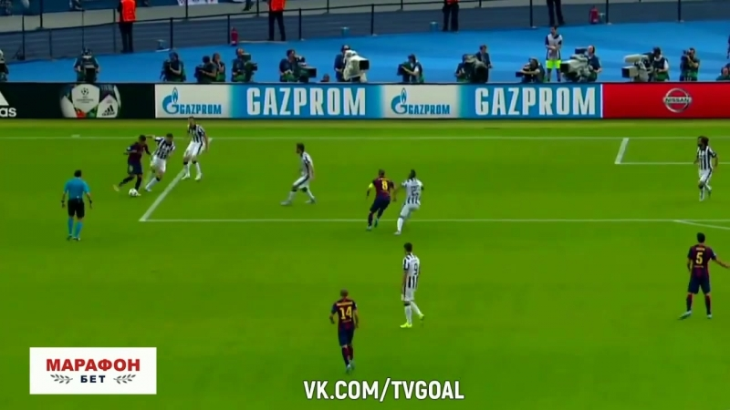 Ювентус 1-3 Барселона. Финал Лиги Чемпионов