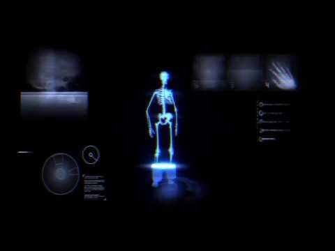 КиноМагия детализация голограммы на основе скелетной модели