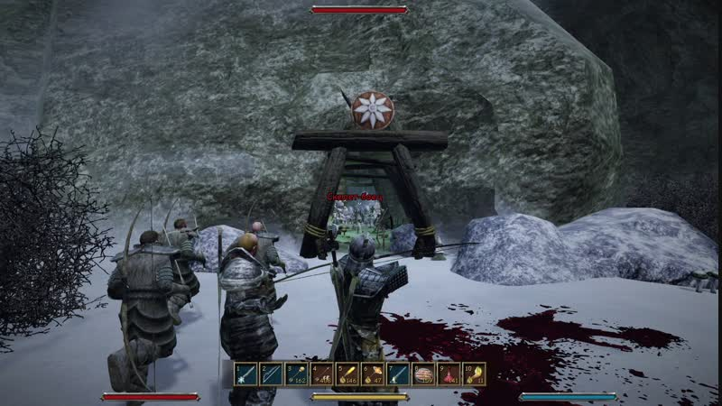 Gothic3 Бой в гробнице!