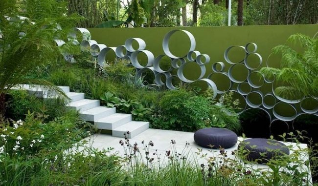 Ландшафтный дизайн в стиле минимализм.