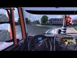 Первое видео из мультиплеера Euro Truck Simualtor 2. БЕРЕГИТЕ ГЛАЗА, КАЧЕСТВО ХРЕНЬ!