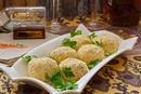 Сырно-сливочные шарики с тунцом и укропом