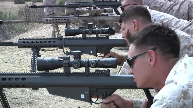 Our training with the M107 sniper rifle with a range of 2000 meters. This is the best anti-Putin prevention system.