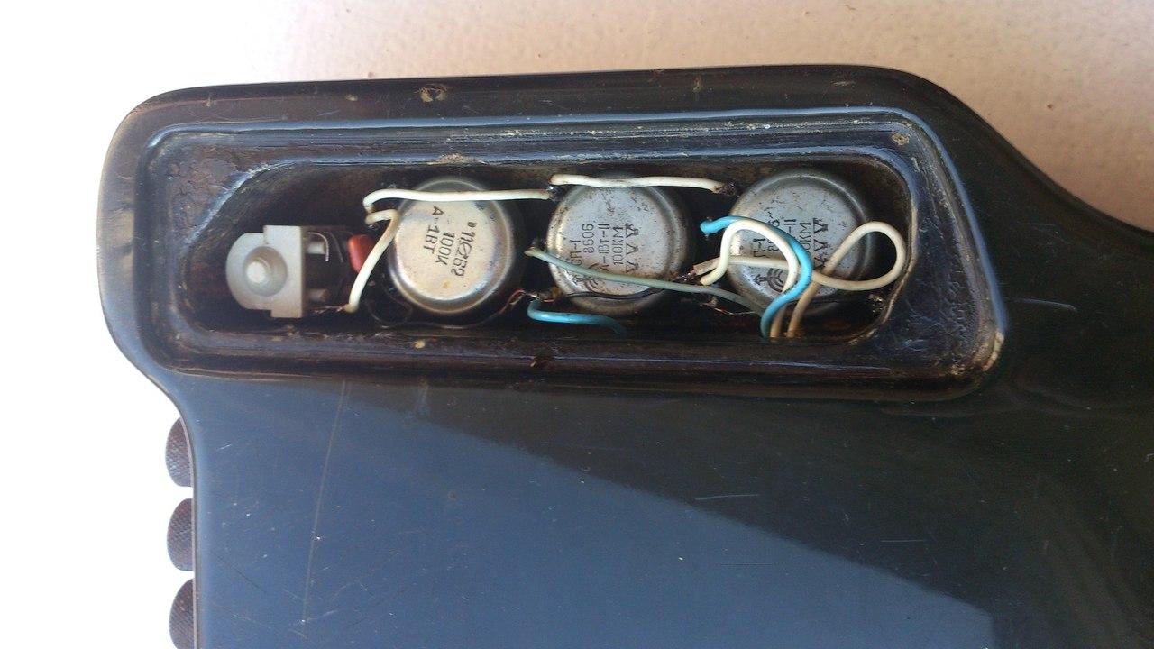 схема темброблока электрогитары бас