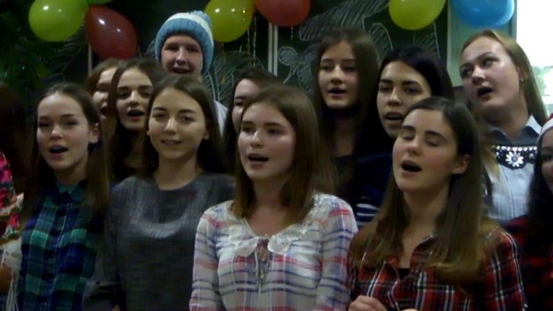 Новорічна пісня від студентів журналістів 2017