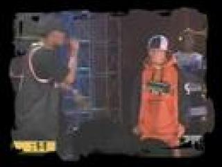 MC JIN vs. Sean Nicholas Freestyle Rap Battle at 106 & park from BET