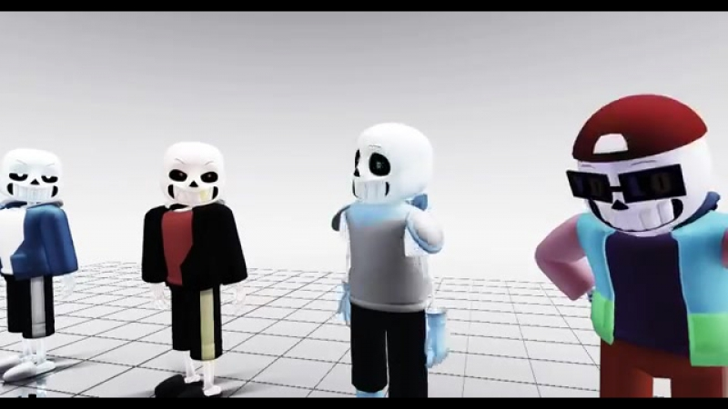 【MMD _ Undertale AUs】A Spectacular Performance (1)