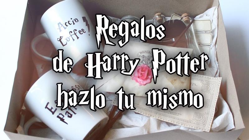 REGALOS DE HARRY POTTER HAZLO TU MISMO ⚡️ CARTA | VARITA | TAZA | POCIONES