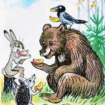 Иллюстрации Владимира Григорьевича Сутеева