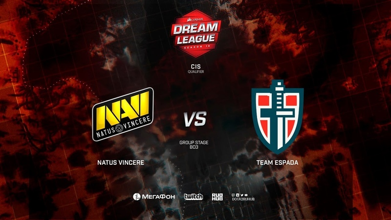 Team Espada vs Natus Vincere, DreamLeague Minor Qualifiers CIS, bo3, game 1 [NS Maelstorm]