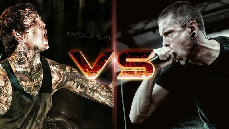ScreamWar Mitch Lucker VS Phil Bozeman