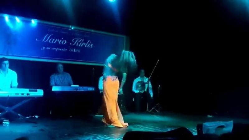 Juliana Aragón - (Orquesta Mario Kirlis) - Colette 08-09-2016 22481