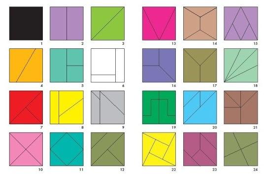 Как на фотке сделать квадраты - Neosun Ru