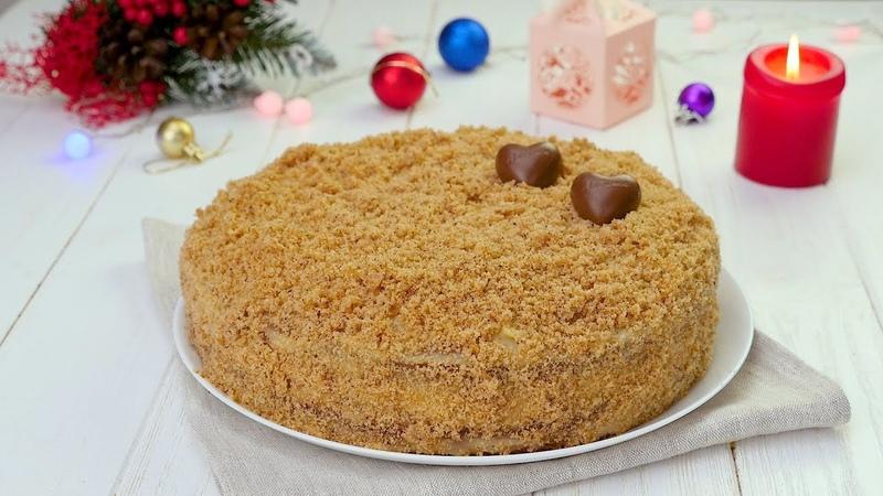 Торт с орехами и кремом - Рецепты от Со Вкусом