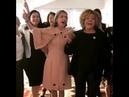 Cármen Lúcia e Raquel Dodge cantam e dançam samba com Alcione