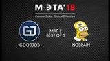 GoodJob vs NoBrain, Map 2 МЭТА`18. Winter