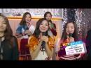 140801 Red Velvet @ Music Bank Waiting Room (рус.саб)