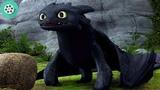 Иккинг делает новый хвост для Беззубика. Как приручить дракона (2010) год.