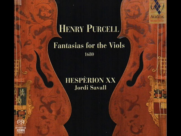 Henry Purcell - Fantasia II in 3 parts (Jordi Savall/Hesperion xx)