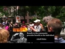ANTIFA Trump protesters applaud speech comprised entirely of Hitler quotes