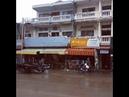 Дождливый день в Камбодже
