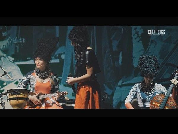 ДахаБраха feat. Jamala - Заманили - Live@ДК КПИ, Kiev [23.12.2015] (multicam)
