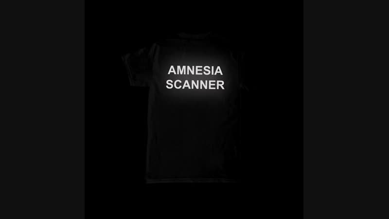 AMNESIA SCANNER @amnesiascanner new limited reflective shirts out now