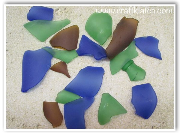 Make Your Own Sea Glass DIY Tumbled Glass