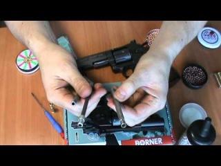 Пневматический шумовой револьвер