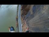 Очень неудачный прыжок с парашютом