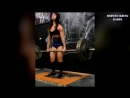 YOUNG NATURAL POWERLIFTING GIRL _ Maddy Forberg _ Workout Fun