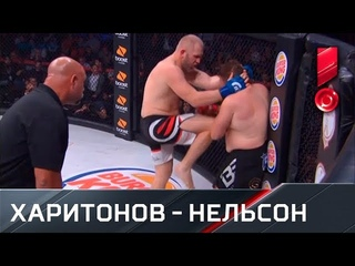 Харитонов нокаутировал Нельсона на последней секунде первого раунда