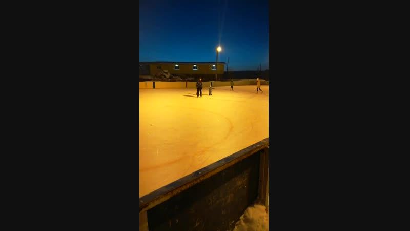 Первые шаги на льду