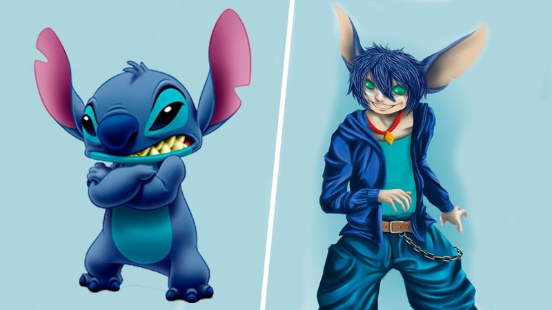 Cartoon Characters HUMAN VERSION New Cool